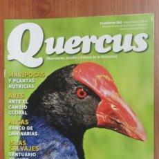 Coleccionismo de Revistas y Periódicos: REVISTA QUERCUS - CUADERNO 363 - MAYO 2016 CALAMON, AVES, ALGAS, MARIPOSAS, DINOSAURIOS. Lote 105304251