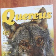 Coleccionismo de Revistas y Periódicos: REVISTA QUERCUS - CUADERNO 364 - JUNIO 2016 TURISMO LOBERO, GATO MONTES, BUHO AGUILA REAL. Lote 105304483