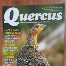 Coleccionismo de Revistas y Periódicos: REVISTA QUERCUS - CUADERNO 366 - AGOSTO 2016 UROGALLO, ERIZO, ALCUDIA, INCENDIOS FORESTALES. Lote 105304987