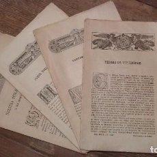 Coleccionismo de Revistas y Periódicos: LOTE DE CUATRO . REVISTA RELIGIOSA DEL AÑO 1900 Y 1901. Lote 105312071