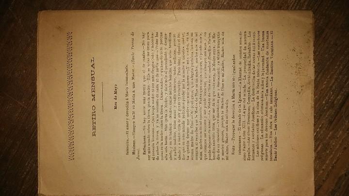 Coleccionismo de Revistas y Periódicos: LOTE DE CUATRO . REVISTA RELIGIOSA DEL AÑO 1900 Y 1901 - Foto 7 - 105312071