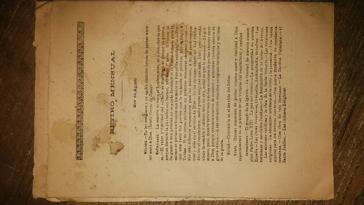 Coleccionismo de Revistas y Periódicos: LOTE DE CUATRO . REVISTA RELIGIOSA DEL AÑO 1900 Y 1901 - Foto 9 - 105312071
