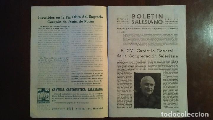 Coleccionismo de Revistas y Periódicos: BOLETIN SALESIANO Nº 9 Y 10 septiembre y octubre de 1947 AÑO LX - Foto 3 - 105316975