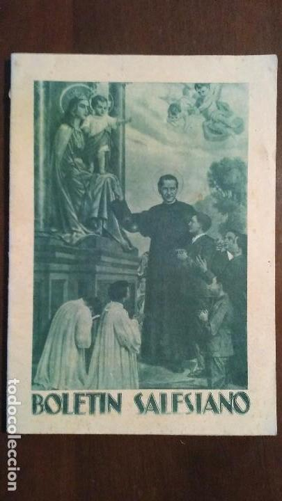 BOLETIN SALESIANO Nº 9 Y 10 SEPTIEMBRE Y OCTUBRE DE 1947 AÑO LX (Coleccionismo - Revistas y Periódicos Modernos (a partir de 1.940) - Otros)