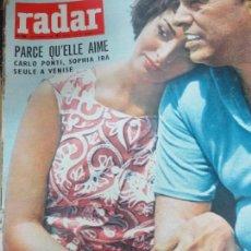 Coleccionismo de Revistas y Periódicos: REVISTA RADAR Nº 500 5 SEPTIEMBRE 1958. Lote 105340139