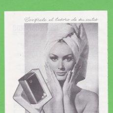 Coleccionismo de Revistas y Periódicos: PUBLICIDAD 1968. ANUNCIO JABON MADERAS. MYRURGIA - INSTITUTO AMERICANO (REVERSO). Lote 105377527
