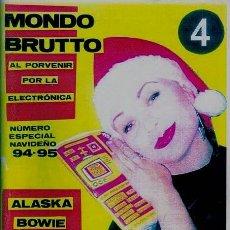 Coleccionismo de Revistas y Periódicos: FANZINE MONDO BRUTTO 4 (REPRODUCCIÓN PÁGINAS EN NEGRO Y GRIS). Lote 123893484