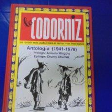 Coleccionismo de Revistas y Periódicos: LA CODORNIZ, ANTOLOGÍA 1941-1948. Lote 113298635