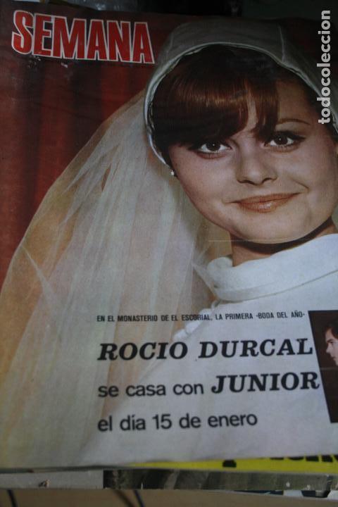 ROCIO DURCAL HJUNIOR CLAUDIA CARDINALE SALVADOR DALI 1969 (Coleccionismo - Revistas y Periódicos Modernos (a partir de 1.940) - Otros)