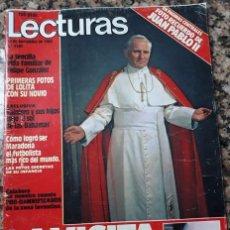 Coleccionismo de Revistas y Periódicos: EL PAPA JUAN PABLO II EN ESPAÑA 1982. Lote 105696503