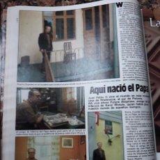 Coleccionismo de Revistas y Periódicos: EL PAPA JUAN PABLO II EN ESPAÑA 1982. Lote 105697911