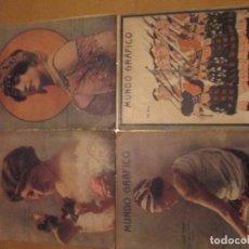 Coleccionismo de Revistas y Periódicos: MUNDO GRAFICO -AÑO 1914 -LOTE DE 4 REVISTAS. Lote 105773311