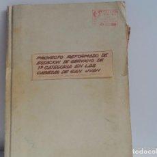 Coleccionismo de Revistas y Periódicos: CABEZAS DE SAN JUAN PROYECTO REFORMADO DE ESTACION DE SERVICIO 1ª CATEGORIA . Lote 105978811