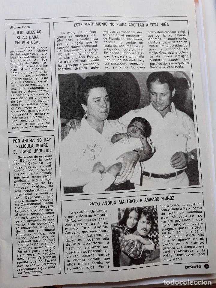 AMPARO MUÑOZ MISS ESPAÑA UNIVERSO PATXI ANDION (Coleccionismo - Revistas y Periódicos Modernos (a partir de 1.940) - Otros)
