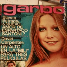 Coleccionismo de Revistas y Periódicos: BLANCA ESTRADA DAVID CARPENTER MASSIEL CAMILO SESTO 1974. Lote 106179263