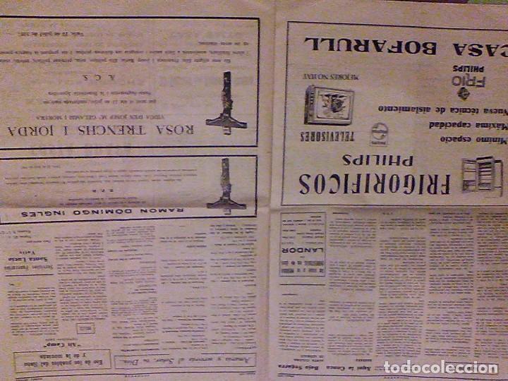 Coleccionismo de Revistas y Periódicos: JUVENTUD SEMANARIO NACIONAL SINDICALISTA VALLS TARRAGONA DIA DE ANDORRA LA VELLA 1967 - Foto 6 - 106584271