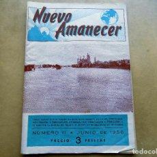 Coleccionismo de Revistas y Periódicos: REVISTA NUEVO AMANECER. NUMERO 11. JUNIO DE 1956. ZARAGOZA. Lote 106703083