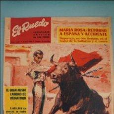 Coleccionismo de Revistas y Periódicos: EL RUEDO SEMANARIO GRÁFICO TAURINO Nº 1241. Lote 106759847