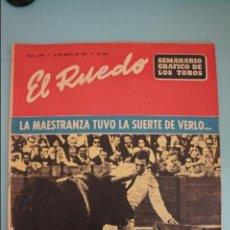 Coleccionismo de Revistas y Periódicos: EL RUEDO SEMANARIO GRÁFICO TAURINO Nº 1195. Lote 135463635