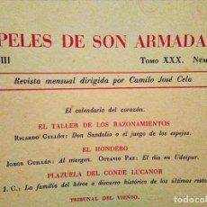 Coleccionismo de Revistas y Periódicos: PAPELES DE SON ARMADANS, 48 NÚMEROS: LXXXII A CXXIX (ENERO 1963 - DICIEMBRE 1966). Lote 106801931