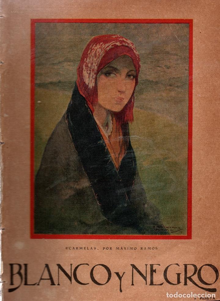 REVISTAS BLANCO Y NEGRO Nº 1912. MADRID 8 ENERO 1928. VER ARTÍCULOS: (Coleccionismo - Revistas y Periódicos Antiguos (hasta 1.939))