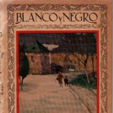 Coleccionismo de Revistas y Periódicos: REVISTAS BLANCO Y NEGRO Nº1920. MADRID 4 MARZO 1928. VER ARTÍCULOS:. Lote 107001319