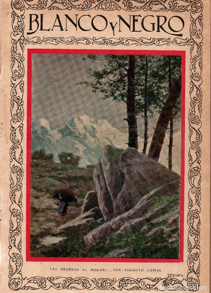 REVISTAS BLANCO Y NEGRO Nº 1922. MADRID 18 MARZO 1928. VER ARTÍCULOS: (Coleccionismo - Revistas y Periódicos Antiguos (hasta 1.939))