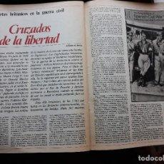 Coleccionismo de Revistas y Periódicos: POETAS BRITANICOS EN LA GUERRA CIVIL. Lote 107061203