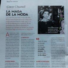 Coleccionismo de Revistas y Periódicos: COCO CHANEL CHANNEL. Lote 107070695