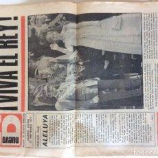 Coleccionismo de Revistas y Periódicos: ND, NUEVO DIARIO 27 NOVIEMBRE 1975. Lote 107168543