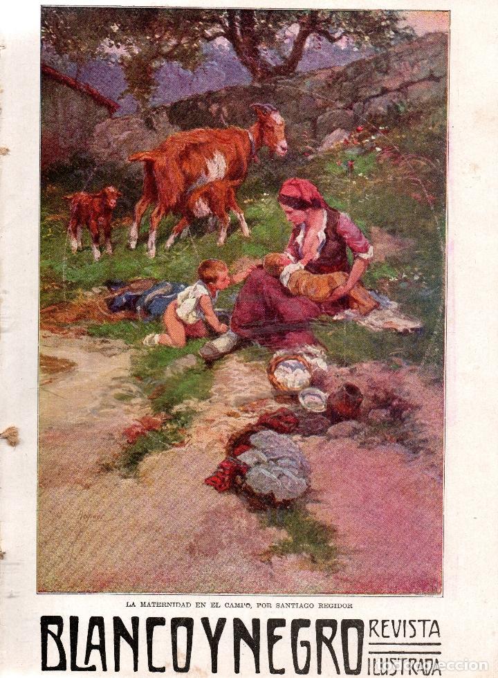 REVISTAS BLANCO Y NEGRO Nº 1186. MADRID 8 FEBRERO 1914. VER ARTÍCULOS: (Coleccionismo - Revistas y Periódicos Antiguos (hasta 1.939))