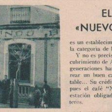 Coleccionismo de Revistas y Periódicos: * HUELVA * CAFÉ NUEVO MUNDO - 1933. Lote 107215219