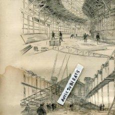 Coleccionismo de Revistas y Periódicos: REVISTA AÑO 1888 EXPOSICION UNIVERSAL DE BARCELONA TRABAJOS CONSTRUCCIONES . Lote 107226167