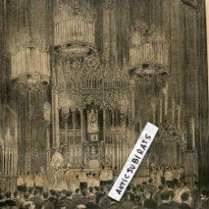 Coleccionismo de Revistas y Periódicos: REVISTA AÑO 1888 CORONACION DE LA VIRGEN DE LA MERCEDES VERGE DE LA MERCE . Lote 107238051