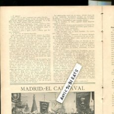 Coleccionismo de Revistas y Periódicos: REVISTA 1907 TREN MINAS OJOS NEGROS EN SAGUNTO TUNAS ESTUDIANTINA ALFONSO VICTORIA ESCOLAR MADRILEÑA. Lote 107270835