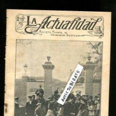 Coleccionismo de Revistas y Periódicos: AÑO 1907 SARANAS EN VALLVIDRERA SEGUIDILLAS MURCIANAS MURCIA CICLISTAS DE MADRID BICICLETAS GANDIA . Lote 107288339