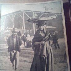 Coleccionismo de Revistas y Periódicos: NUEVO MUNDO AÑO 1908 Nº737 GUADALQUIVIR CORIA-REY EN SEVILLA:CASA PILATOS-MAR CHICA. Lote 107491619