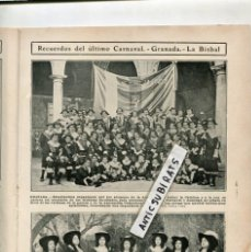 Coleccionismo de Revistas y Periódicos: REVISTA AÑO 1910 ESTUDIANTINA TUNA DE GRANADA TUNA ESCOLAR ALICANTINA . Lote 107559747