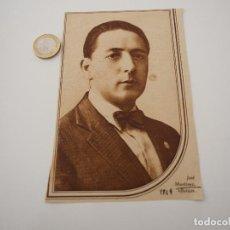 Coleccionismo de Revistas y Periódicos: RECORTE REVISTA ORIGINAL 1929. JOSE MARTINEZ BOTON. Lote 107772291