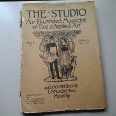 Coleccionismo de Revistas y Periódicos: THE STUDIO MAGAZINE. VOL: 52. Nº 215. MAY 1911. COLONIA PINTORES AMERICANOS EN PARIS. MODERNISMO.. Lote 107793247
