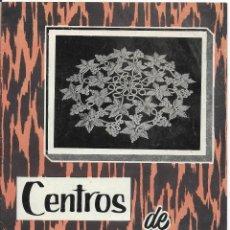 Coleccionismo de Revistas y Periódicos: CENTROS DE CROCHET.. Lote 107809327