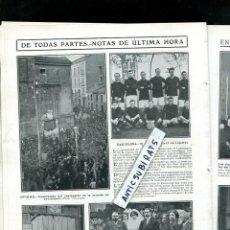 Coleccionismo de Revistas y Periódicos: REVISTA 1911 FUTBOL DEPORTIVO ESPAÑOL RCD WOOLWICH JOVELLANOS OVIEDO LUIS MATUTANO PATATAS MANCOMUNI. Lote 107944275
