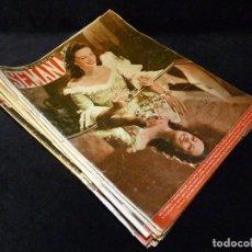 Coleccionismo de Revistas y Periódicos: LOTE DE 21 REVISTAS SEMANA. AÑOS 1947-64. REVISTA. Lote 107948767