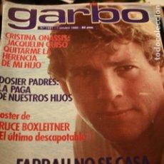 Coleccionismo de Revistas y Periódicos: PALOMA SAN BASILIO SARA MONTIEL FARRAH FAWCETT SALVADOR DALI STAR WARS 1980 REVISTA GARBO. Lote 107983255