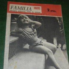 Coleccionismo de Revistas y Periódicos: REVISTA FAMILIA SPAR,Nº 40, AGOSTO 1963,REVISTA MENSUAL PARA EL HOGAR. Lote 108296335