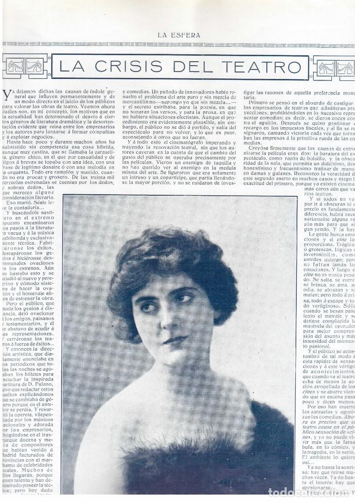La Crisis Del Teatro Mlle Barlette Fot Huge Comprar Revistas Y