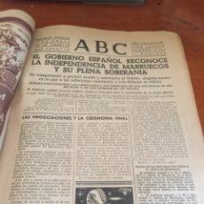 Coleccionismo de Revistas y Periódicos: PERIÓDICO ABC 1956. Lote 108429242