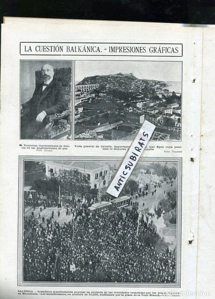 Coleccionismo de Revistas y Periódicos: REVISTA AÑO 1913 VIELLA ILUSTRACION OBRERA ORFEON DE FALSET TESALONICA SALONICA FUTBOL RCD ESPAÑOL - Foto 2 - 108675715
