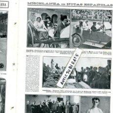 Coleccionismo de Revistas y Periódicos: REVISTA AÑ 1913 MISA EN EL MULACEN GRANADA FUTBOL DEPORTIVO ESPAÑOL RCD EN SANTA COLOMA DE CERVELLO. Lote 108675927