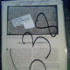 Coleccionismo de Revistas y Periódicos: ANDORRA. 1902.. Lote 107185147